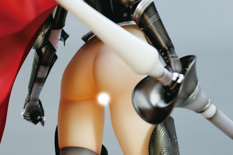 ワルキューレロマンツェ [少女騎士物語] スィーリア クマーニ エイントリー Black ver. 1/6スケール PVC製 塗装済み完成品フィギュア-017