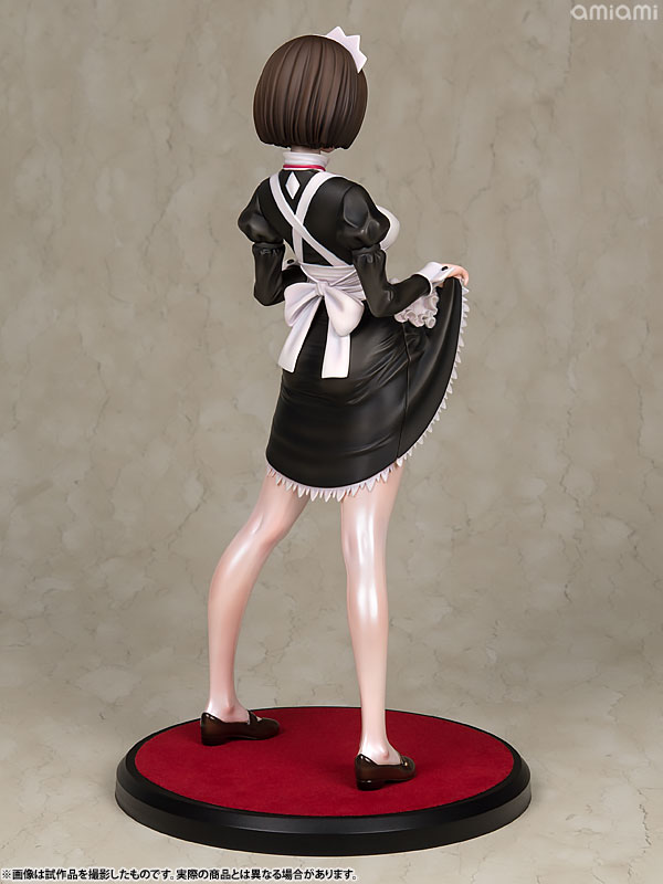 嫌な顔されながらおパンツ見せてもらいたいフィギュア メイドの伊東ちとせさん 1/6 完成品フィギュア-006