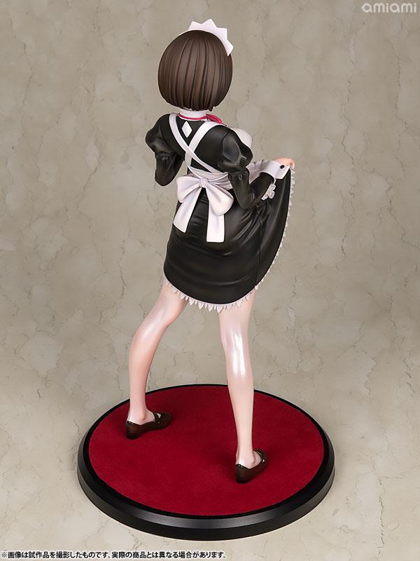 嫌な顔されながらおパンツ見せてもらいたいフィギュア メイドの伊東ちとせさん 1/6 完成品フィギュア-013