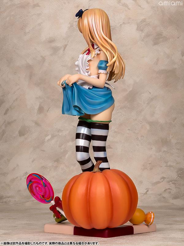 コミック阿吽 Alice illustration by 深崎暮人 1/6スケール PVC製 塗装済み 完成品フィギュア-005