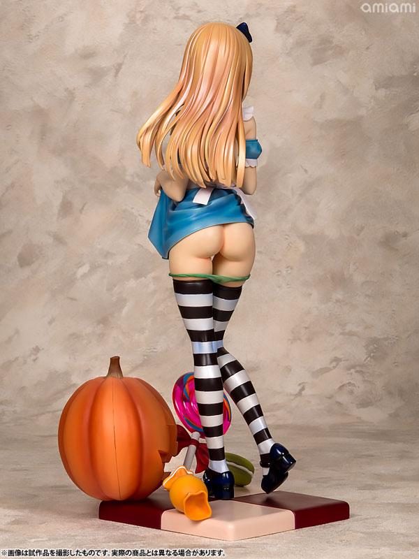 コミック阿吽 Alice illustration by 深崎暮人 1/6スケール PVC製 塗装済み 完成品フィギュア-007