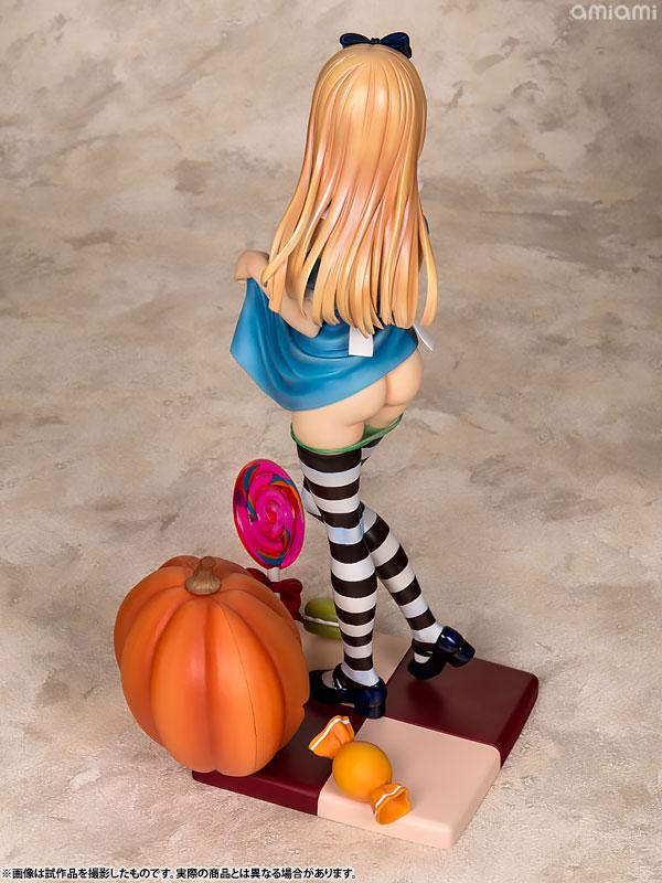 コミック阿吽 Alice illustration by 深崎暮人 1/6スケール PVC製 塗装済み 完成品フィギュア-013