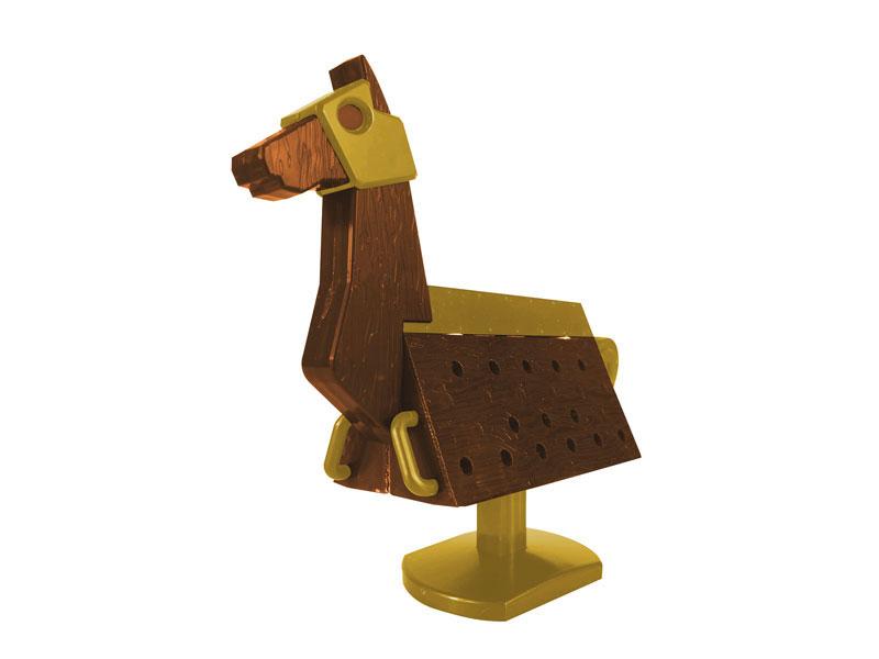 Love Toys Vol.3 三角木馬 Wooden horse 1/12 未塗装 未組み立てキット-004