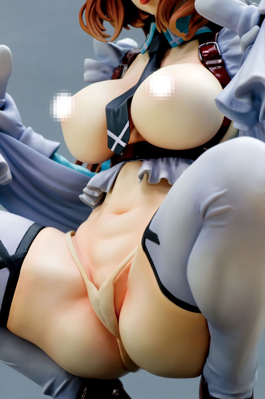 コミックバベル ファナティシズム アリッサ Green ver. 1/5.5 完成品フィギュア-010
