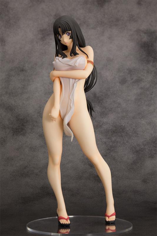 クイーンズブレイド 美しき闘士たち『武者巫女 トモエ』1/6 完成品フィギュア-019