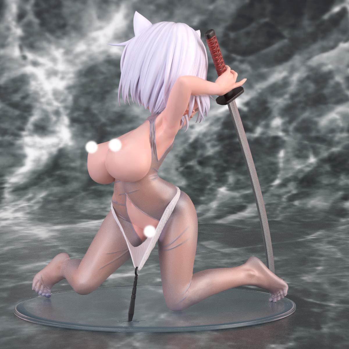 オリジナルキャラクター『神山 巨乳脱衣ver』1/5 完成品フィギュア-006