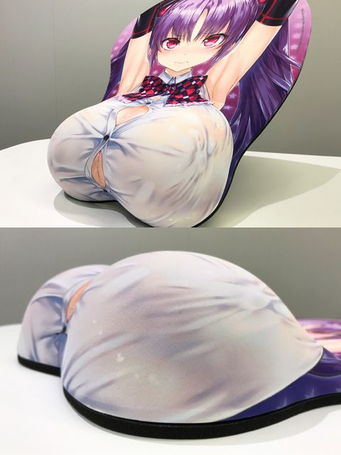 小悪魔カノジョ『ミカ たゆみの巨乳Ver.』等身大おっぱいマウスパッド-005