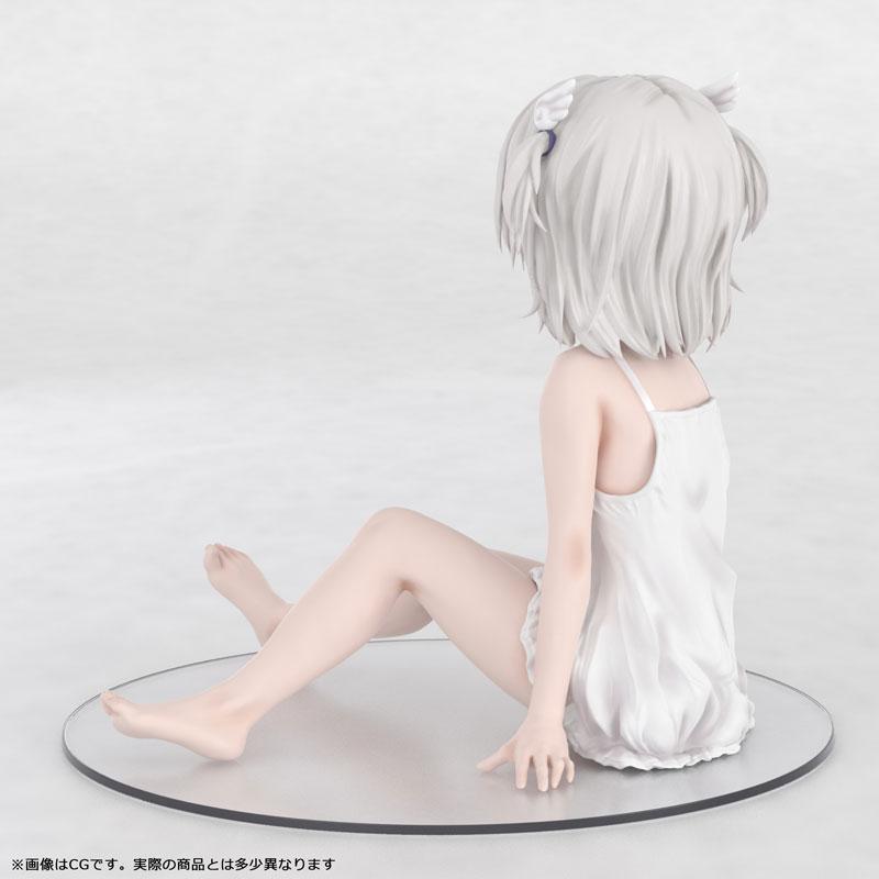 かぷりちお『眞白いこね ワンピースver』1/7 完成品フィギュア-005