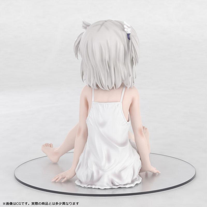 かぷりちお『眞白いこね ワンピースver』1/7 完成品フィギュア-006