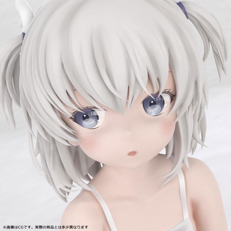かぷりちお『眞白いこね ワンピースver』1/7 完成品フィギュア-010