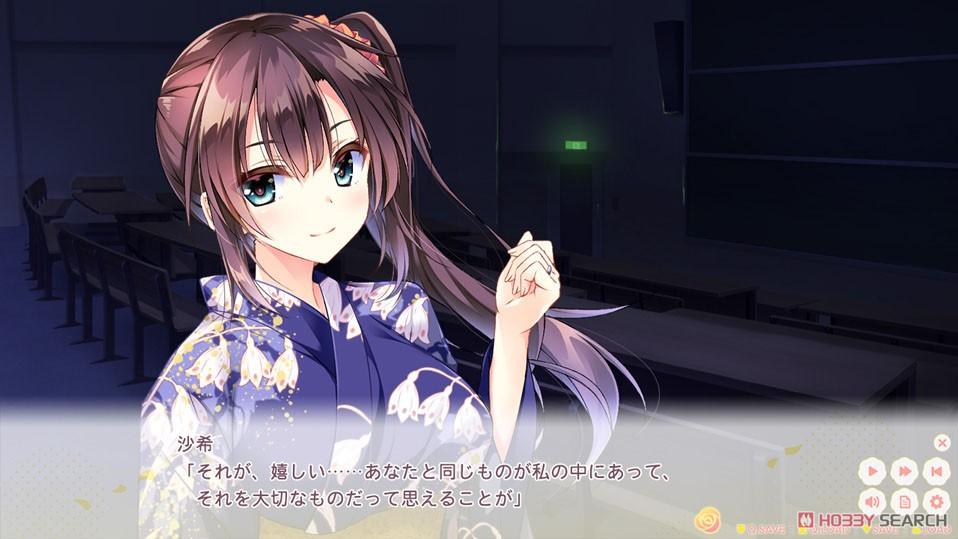 恋はそっと咲く花のように『宮音沙希 ゲーム付き 抱き枕カバー』グッズ-002