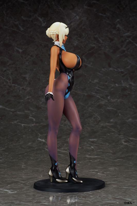 BUNNY GIRL『十六夜エリカ 褐色ver.』ばん!オリジナルキャラクター 1/5 完成品フィギュア-007