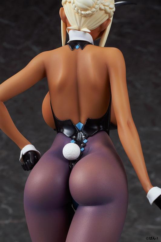 BUNNY GIRL『十六夜エリカ 褐色ver.』ばん!オリジナルキャラクター 1/5 完成品フィギュア-012