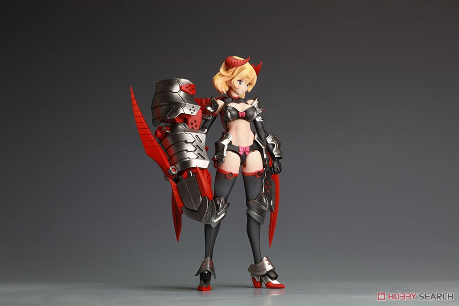 DarkAdvent Vol.1『Dragondress ソフィア DX Ver.』ダークアドヴェント プラモデル-013