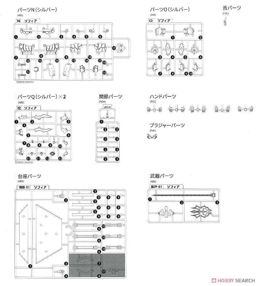 DarkAdvent Vol.1『Dragondress ソフィア DX Ver.』ダークアドヴェント プラモデル-045
