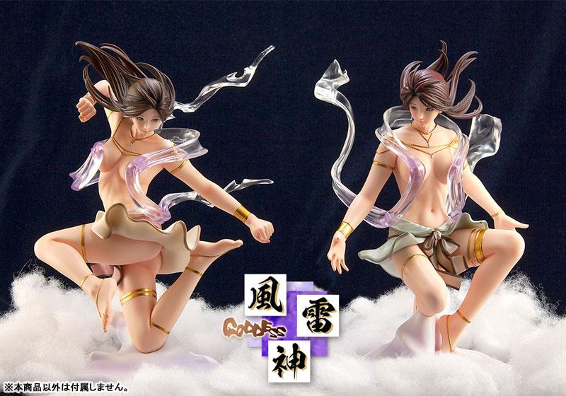 KEIKO's Beauty Line collection Goddess No.C632『風雷神 風』1/7 完成品フィギュア-008
