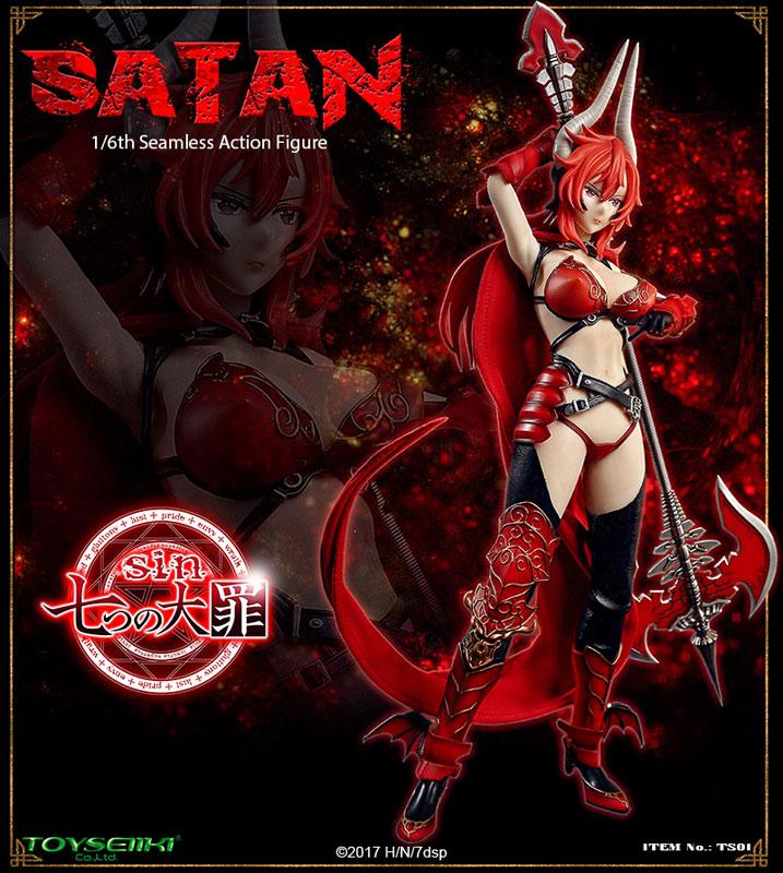 sin 七つの大罪『サタン』1/6 シームレスアクションフィギュア-002