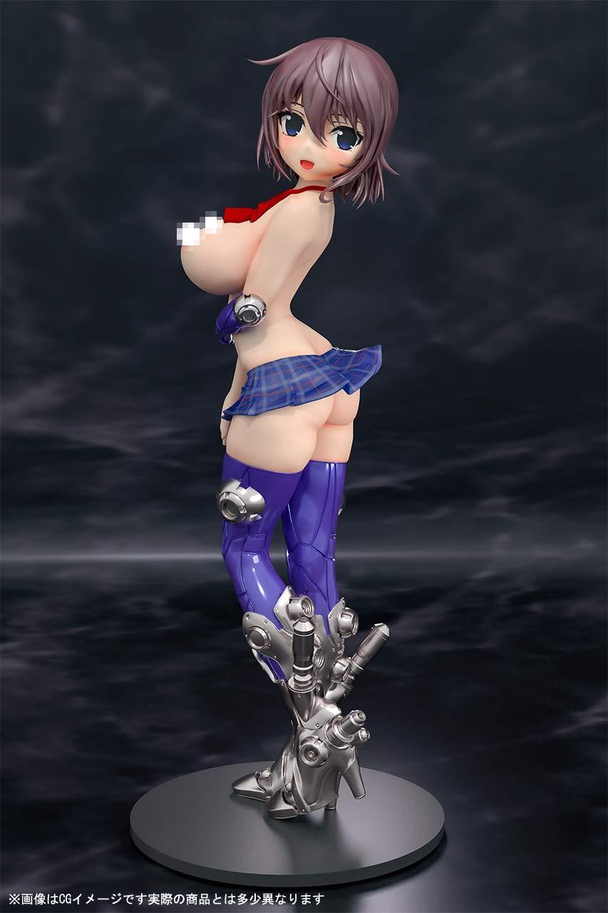 メカ×JK×エロシリーズ『桜』未塗装ガレージキット-006