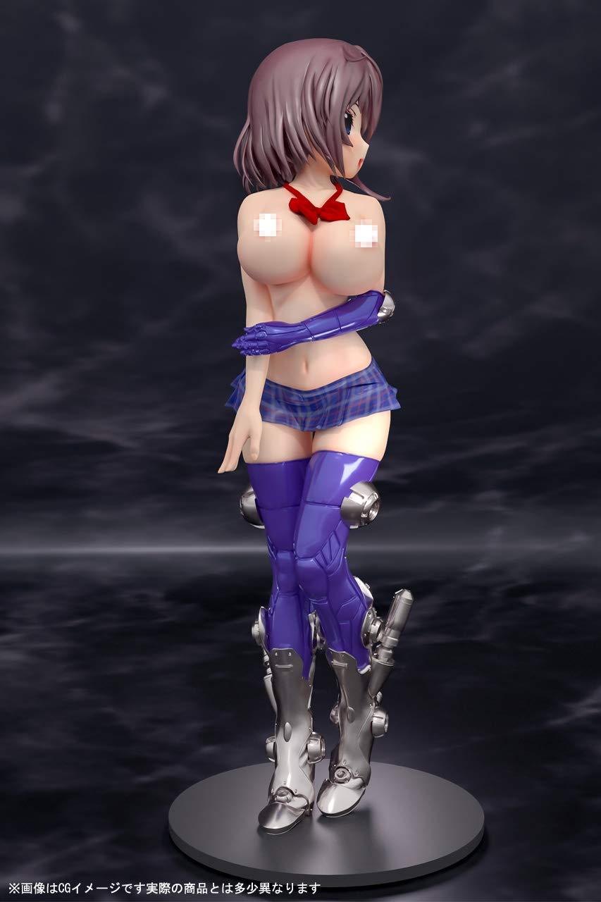 メカ×JK×エロシリーズ『桜』未塗装ガレージキット-007