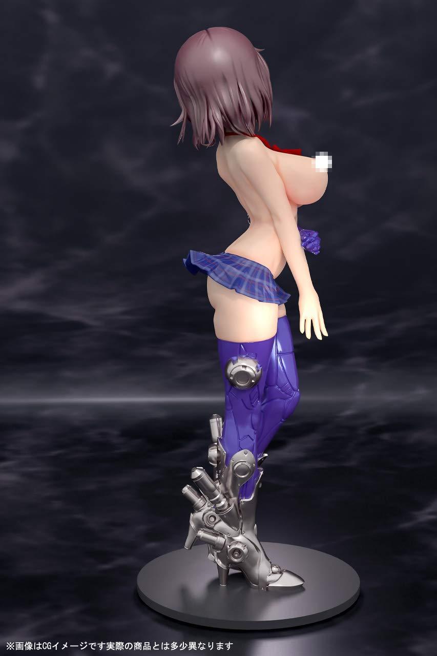 メカ×JK×エロシリーズ『桜』未塗装ガレージキット-008