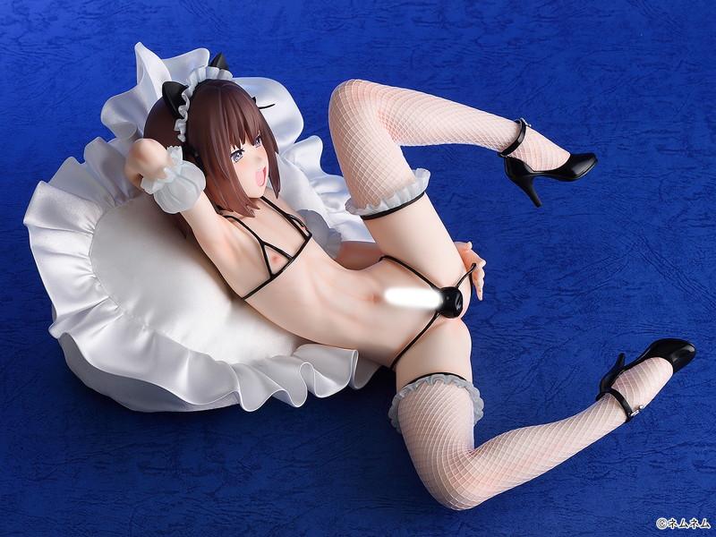 ネムネム オリジナルキャラクター『オトコの娘♂~茉央~』1/4 完成品フィギュア-002