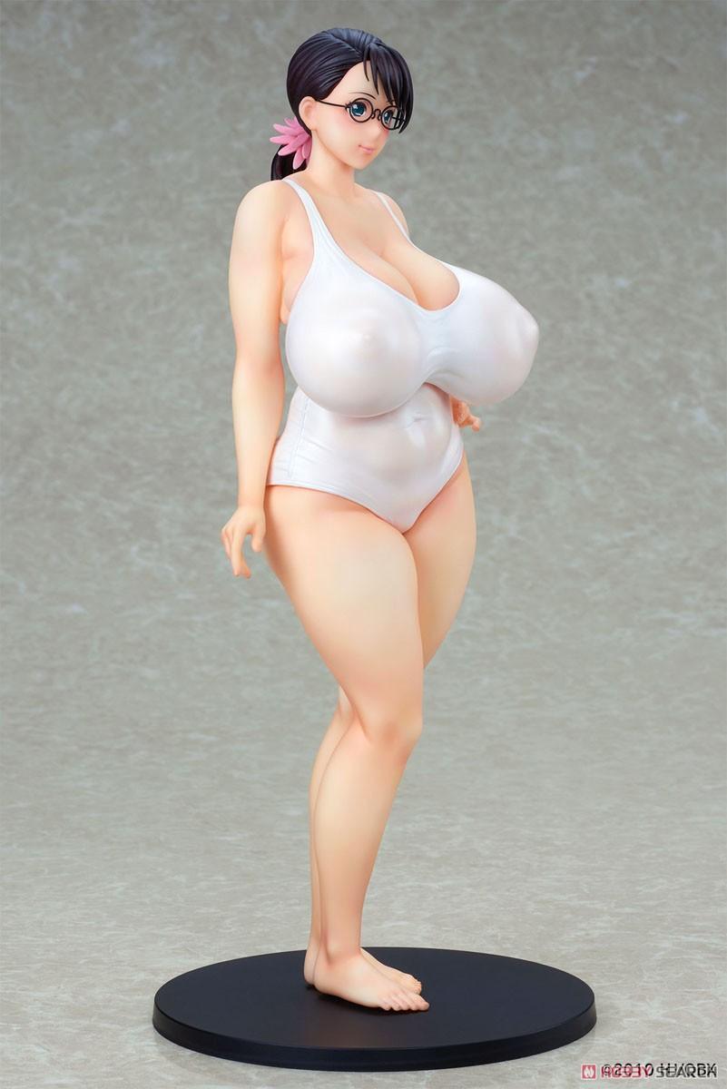 クイーンズブレイド『武器屋カトレア 白水着ver.』1/7 完成品フィギュア-008