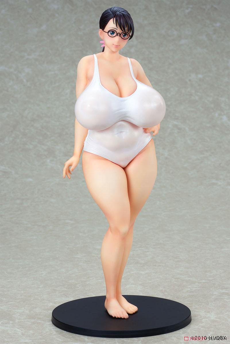 クイーンズブレイド『武器屋カトレア 白水着ver.』1/7 完成品フィギュア-009