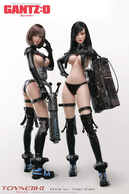 GANTZ:O『レイカ&山咲杏』1/6 シームレスアクションフィギュア-001