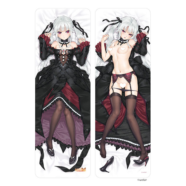 八宝備仁描き下ろし『篝ノ霧枝 ドレスversion』美少女万華鏡 抱き枕カバー