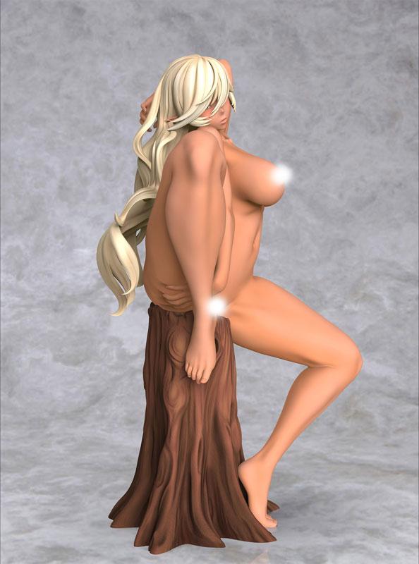 柾見ちえ先生オリジナルイラスト『ダークエルフ』完成品フィギュア-012