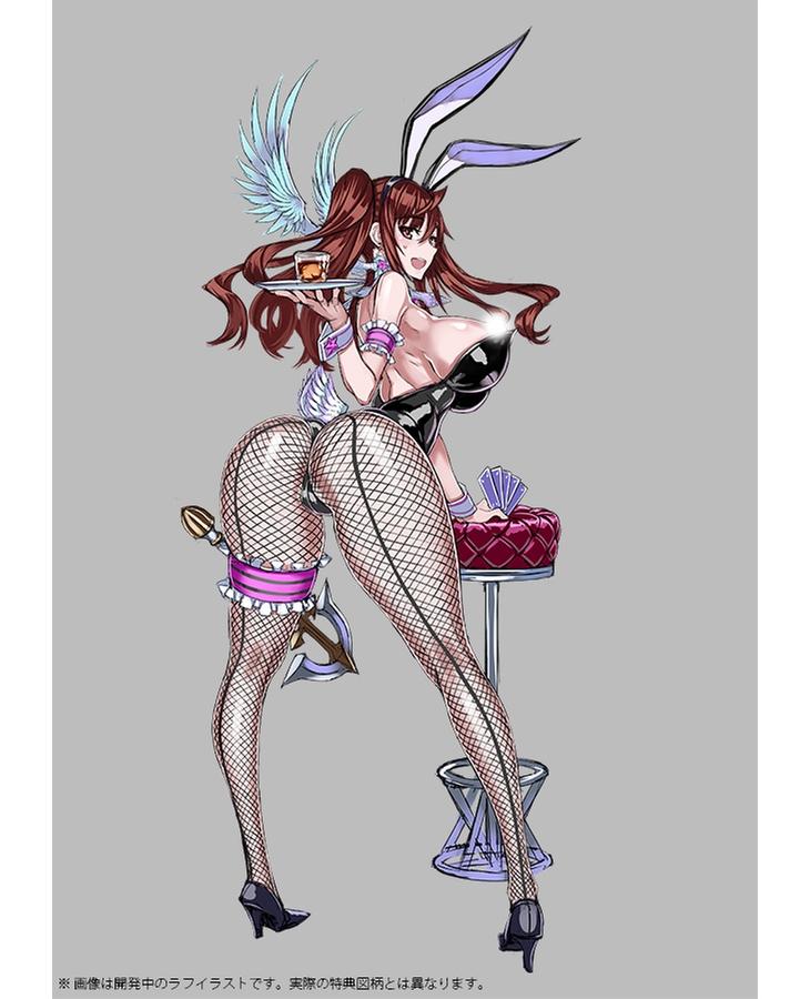 魔法少女『倉本エリカ バニーVer.』1/4 完成品フィギュア-015