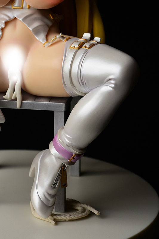 せめ・ちち『ナナリー Bondage Style!~ボンテージスタイル~FILE3/純白・超限定品』1/6 完成品フィギュア-005