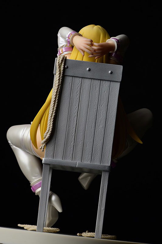 せめ・ちち『ナナリー Bondage Style!~ボンテージスタイル~FILE3/純白・超限定品』1/6 完成品フィギュア-012
