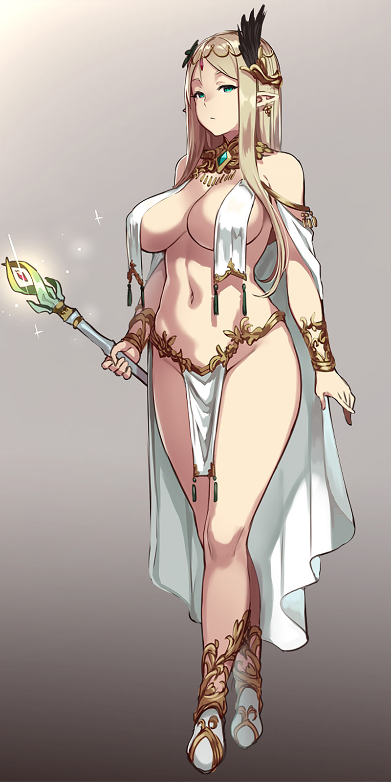Caress of Venus:方天戟 figure collection『-エルフの褥(しとね)- リリー・レリウム』1/7 完成品フィギュア-018