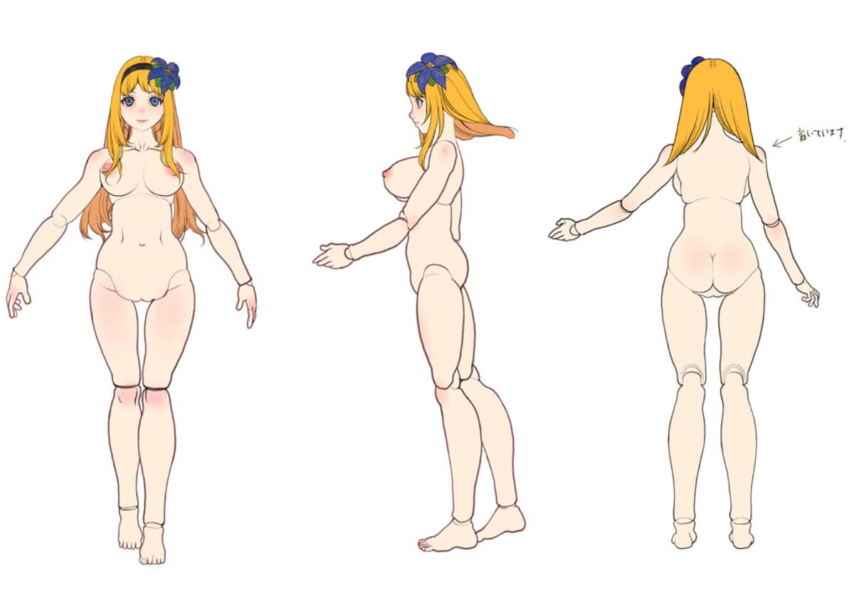 innocence mary doll 01 -イノセンス マリー ドール-『model F.S リリィ』完成品ドール-004