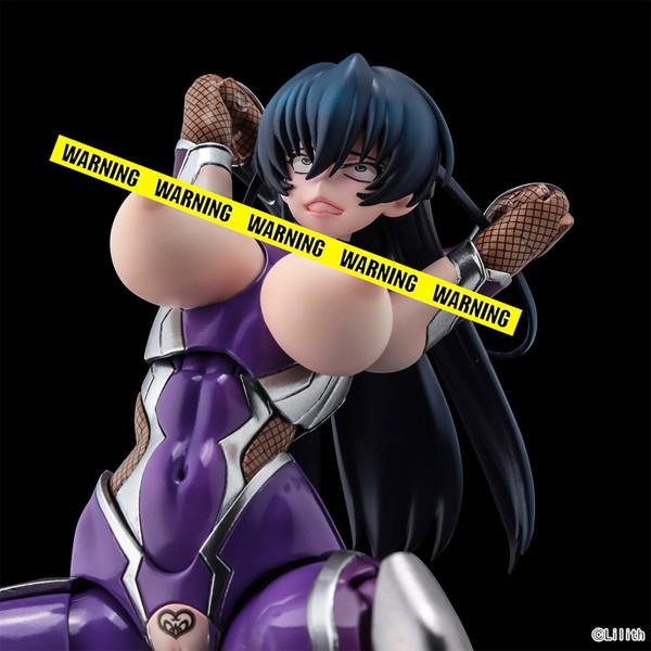 SECOND AXE式❤HENTAI ACTION『井河アサギ』対魔忍アサギ 可動フィギュア-009