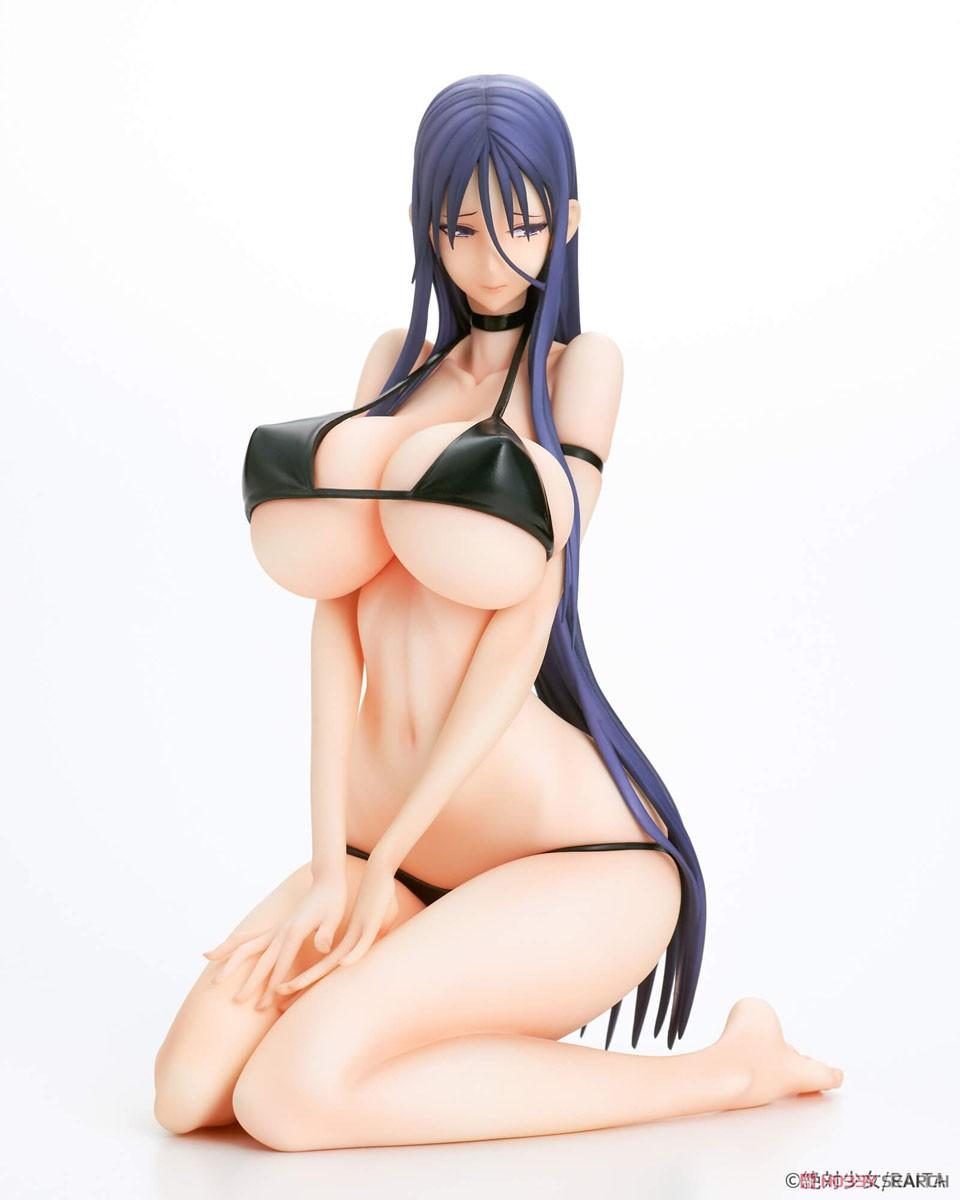 魔法少女『ミサ姉 黒ビキニver.』1/6 完成品フィギュア-002