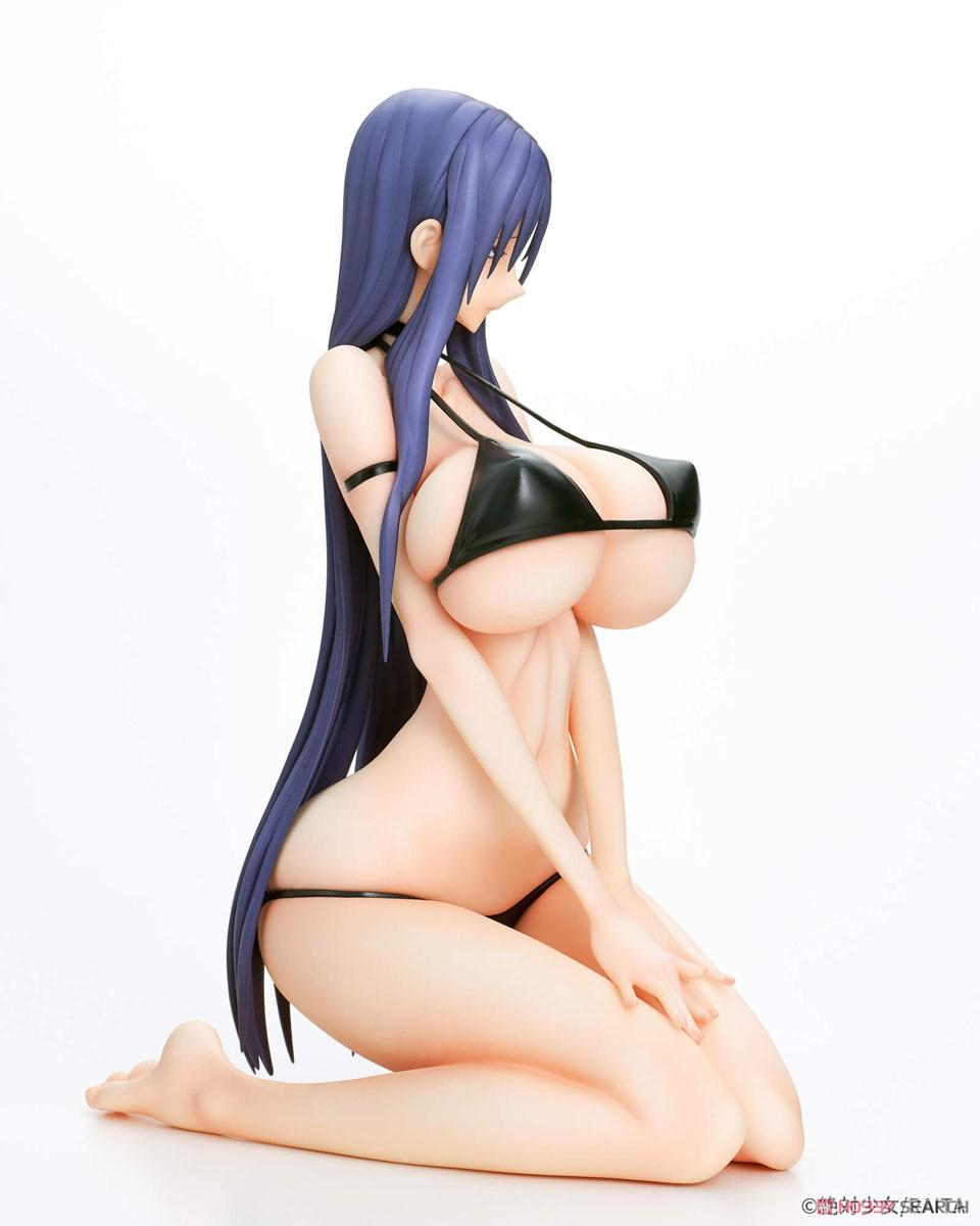 魔法少女『ミサ姉 黒ビキニver.』1/6 完成品フィギュア-004