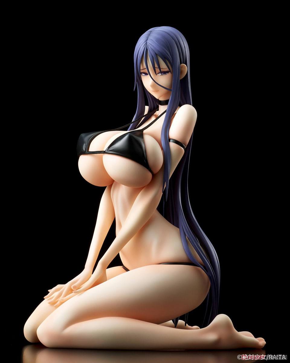魔法少女『ミサ姉 黒ビキニver.』1/6 完成品フィギュア-009