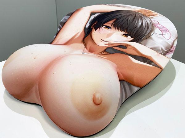 浮気と本気『等身大おっぱいマウスパッド 倉本美佳』グッズ-008