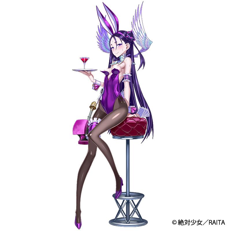 魔法少女『新田由比 バニーVer.』1/7 完成品フィギュア-016