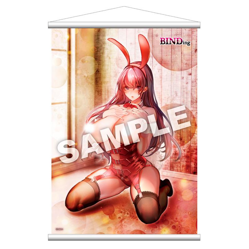 【限定販売】 天音るりオリジナルキャラクター『茉莉花 タペストリー』グッズ-001
