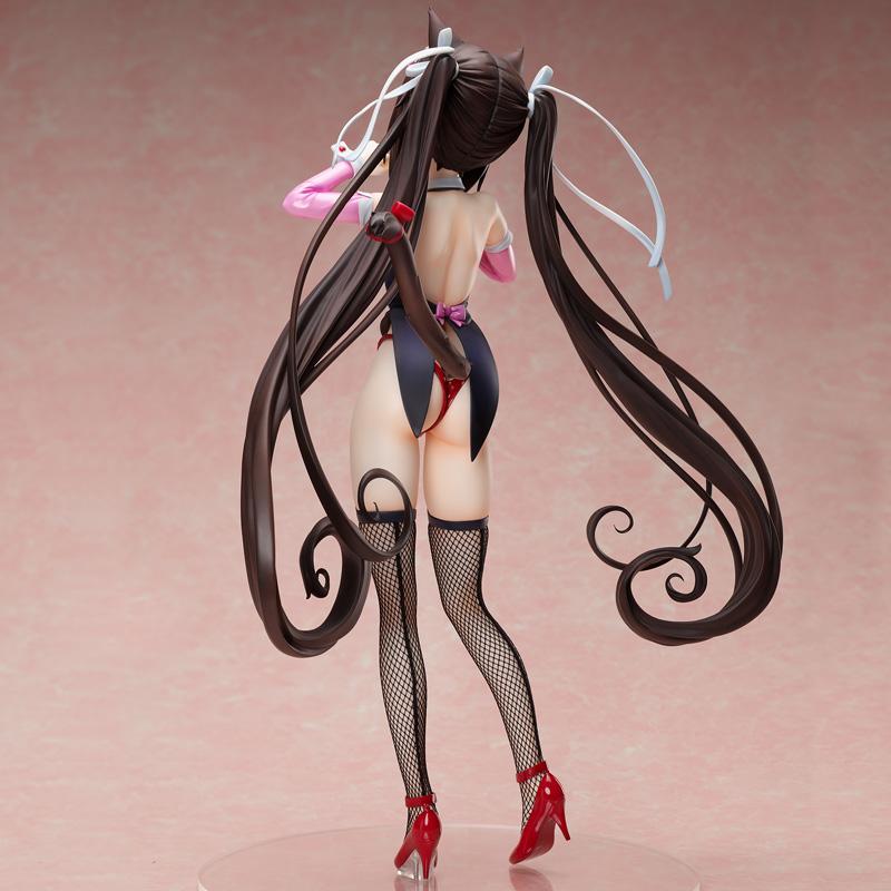 【限定販売】ネコぱら『ショコラ バニースーツVer.』1/4 完成品フィギュア-006