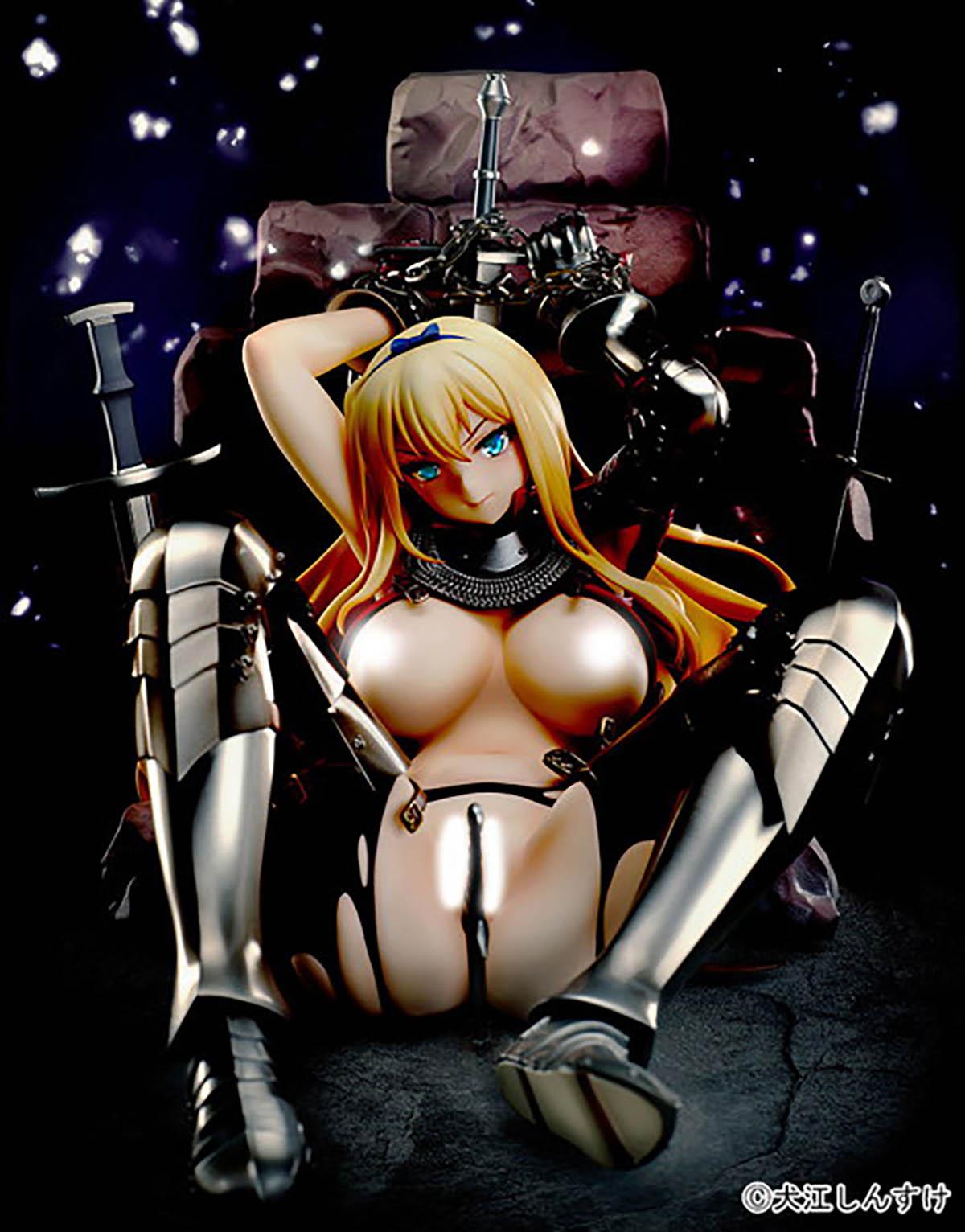 【限定販売】犬江しんすけオリジナルキャラクター『女騎士ヴァレリー』1/5.5 完成品フィギュア-008