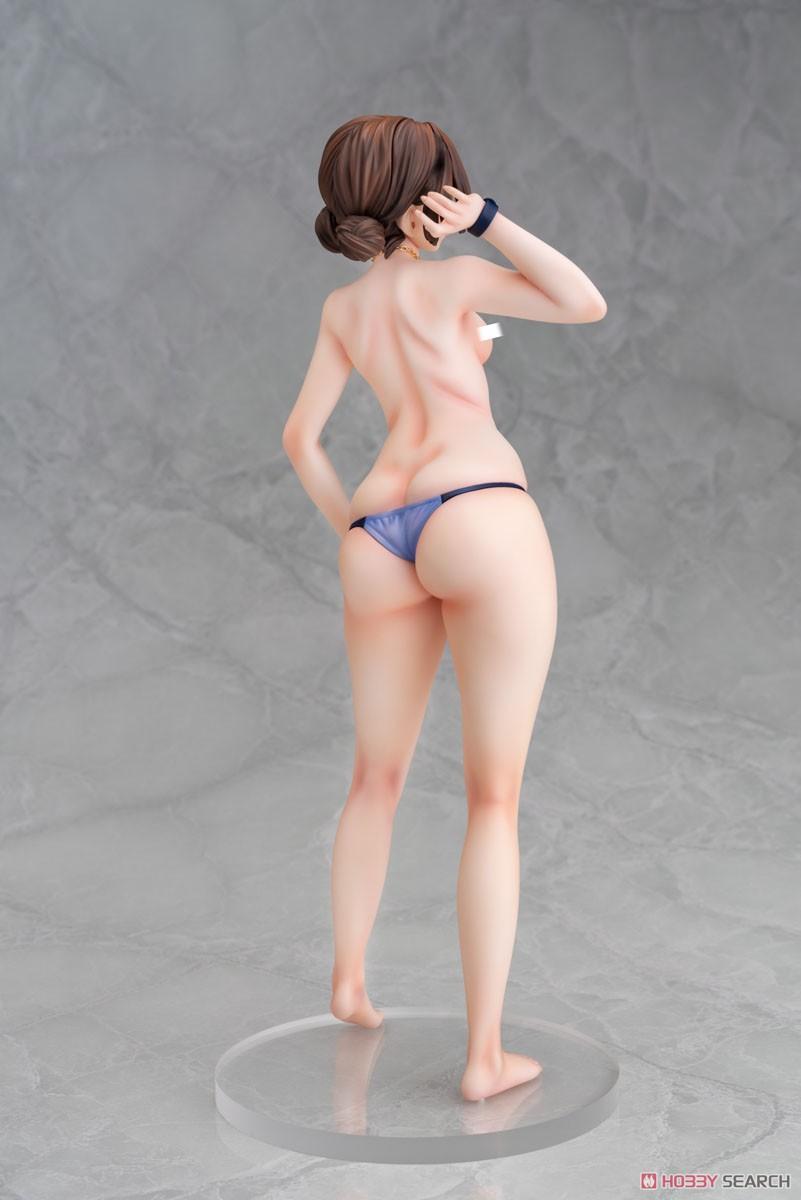 女主任・岸見栄子『岸見栄子 営業先でムチッと海水浴ver.』1/6 完成品フィギュア-018