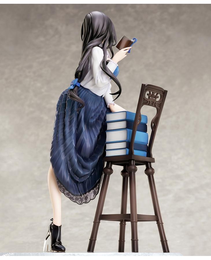 【限定販売】みことあけみオリジナルキャラクター『文学少女』1/7 完成品フィギュア-003