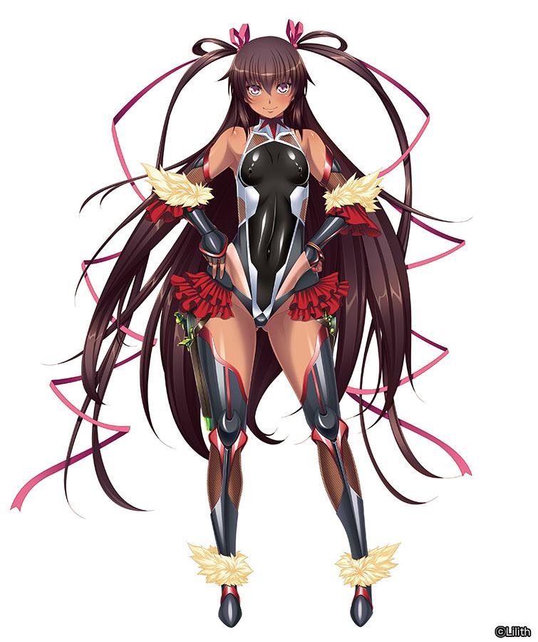 【限定販売】SECOND AXE式❤HENTAI ACTION『水城ゆきかぜ』対魔忍ユキカゼ 可動フィギュア-016