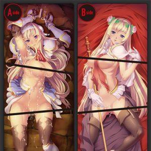 【黒獣】『堕ちた高潔なる姫騎士 アリシア』抱き枕カバー【淫媚廊】より2018年10月発売予定☆
