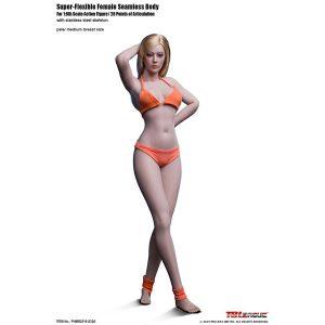 1/6 スーパーフレキシブル『女性シームレスボディ ミドルバスト モデル体型』ドール素体【TBリーグ】より2019年9月発売予定♪