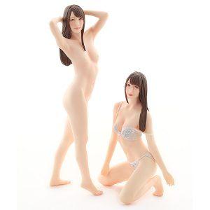 AV女優3Dスキャン・プラモ【PLAMAX】Naked Angel『希崎ジェシカ』1/20 プラモデル【マックスファクトリー】より2020年2月発売予定☆